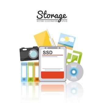 Конструкция устройства хранения