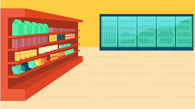 Store isolated vector illustration
