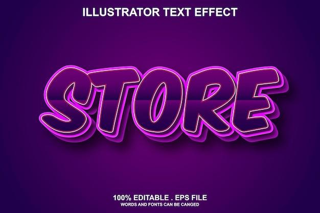 Сохранить текстовый эффект редактируемый