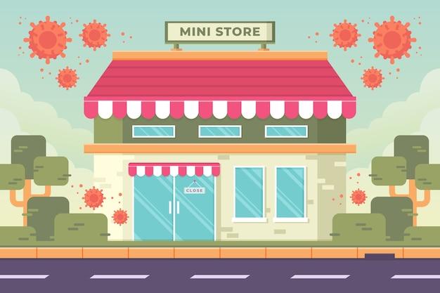 Stores closed coronavirus pandemic