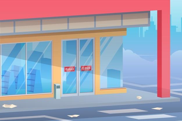 Магазины закрыты пандемии коронавируса