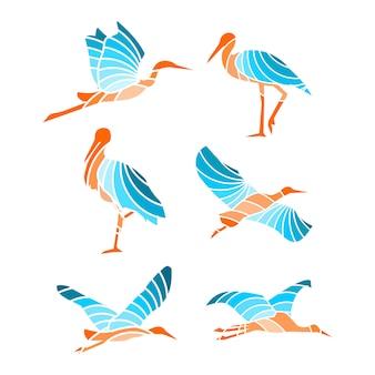 Stork colour