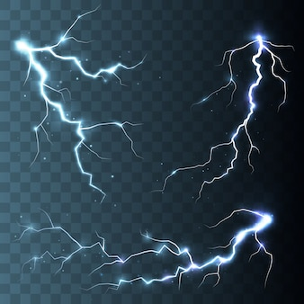 嵐と雷の分離