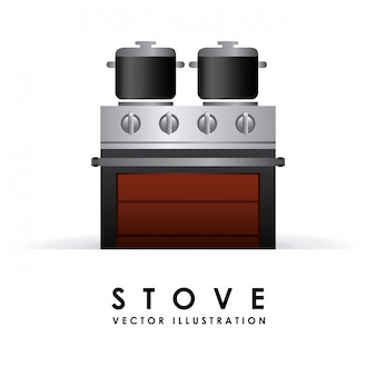 Stove simple element