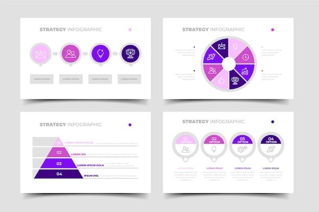 Стратегия инфографики шаблон