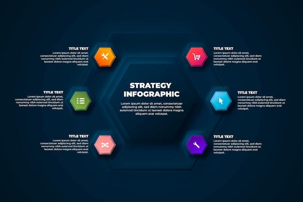 戦略インフォグラフィック