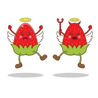 Клубника как ангел