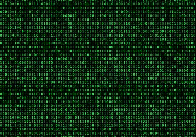 Streaming binary code background