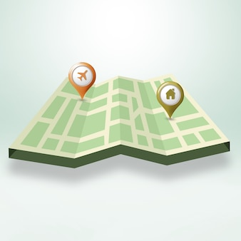 Street map design