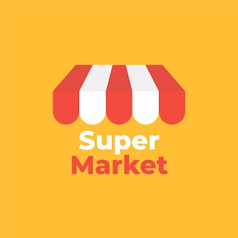Street market business company logo