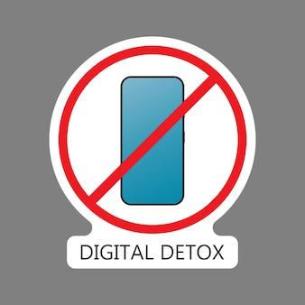 취소선 전화 아이콘입니다. 금지 장치, 자유 영역 장치의 개념