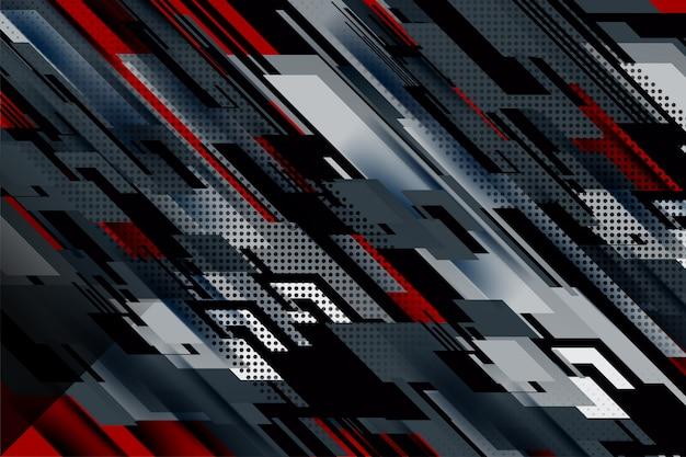 Stripe and lines dark background