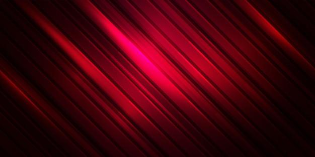 縞模様の抽象的な背景。赤い色の線