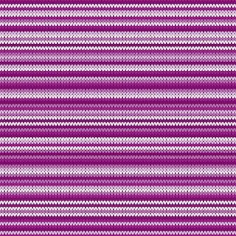 ストライプの抽象的なニットパターン。シームレスニットウールテクスチャ。ニットセーターデザイン