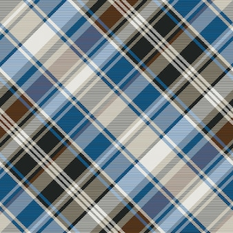 Striped check plaid seamless pattern