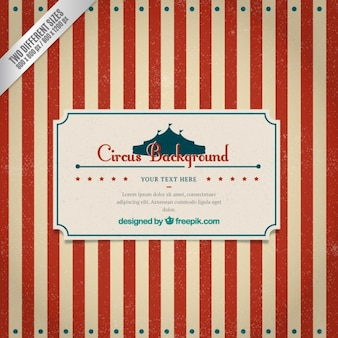 Striped circus background in retro style