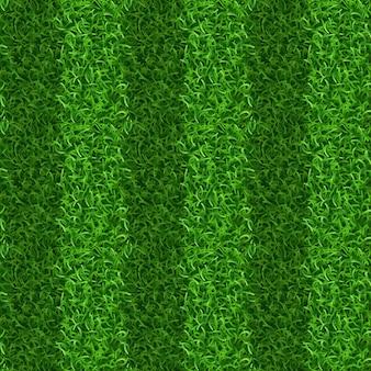 Полосатая зеленая трава поле бесшовные вектор текстуры