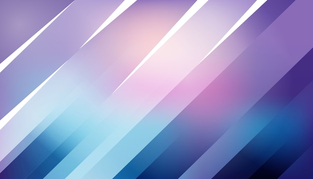 Striped line in gradient background
