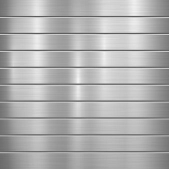 Striped metal background