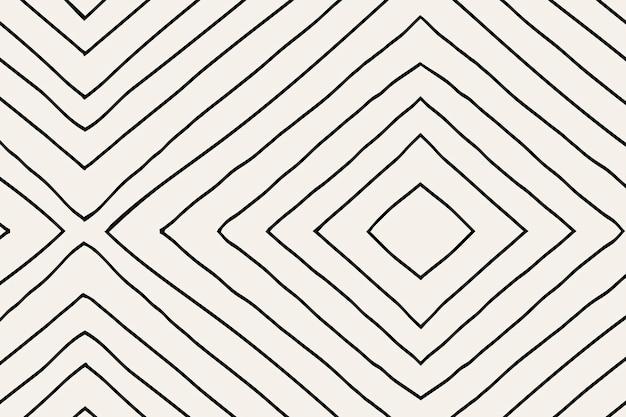 縞模様の背景、落書きベクトル、シンプルなデザイン