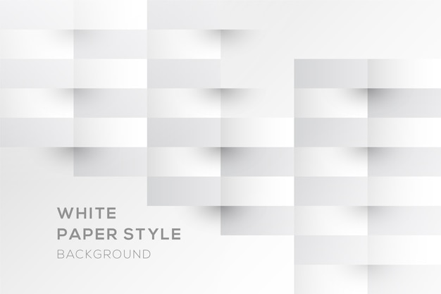 Stripes background in 3d paper style