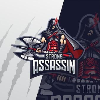 Strong assassin esport logo