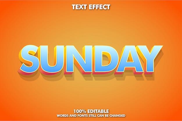 강력한 대담한 현대 글꼴 효과