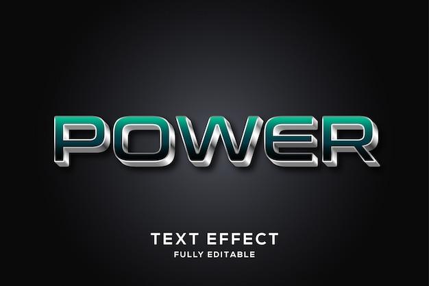 Strong bold современный текстовый эффект