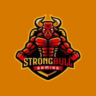 Strong bull gaming 로고