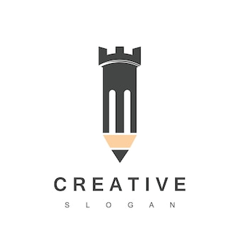 強力なクリエイティブデザインのロゴ