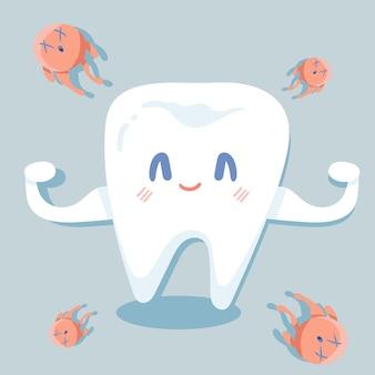 Крепкий зуб