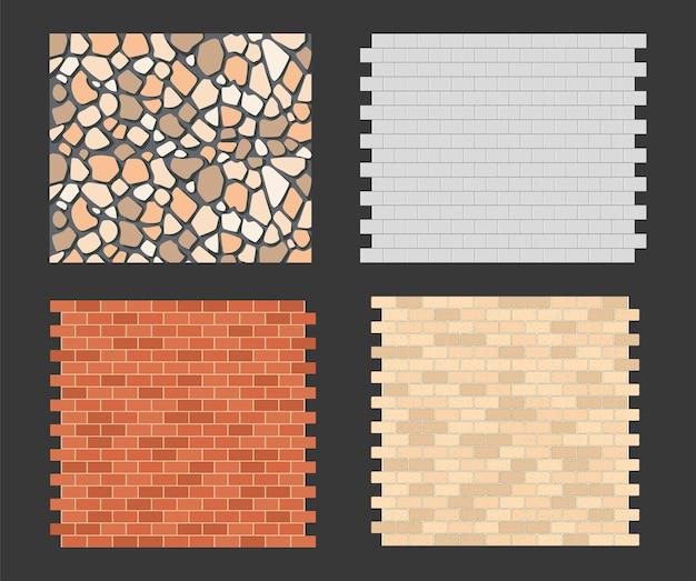 Structure brick walls