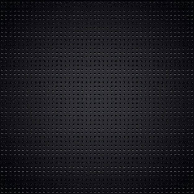 Structured metallic perforated sheet, vector design element