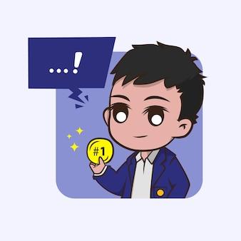 메달 학생 캐릭터
