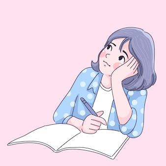 Студент тяжело справляется с домашним заданием