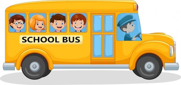 Студенты идут в школу
