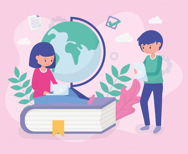 Students school education online