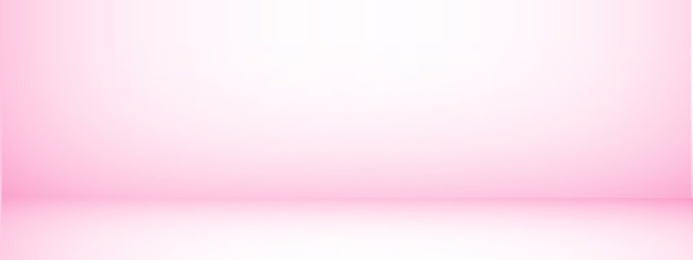 Studio background with space for text, pink empty room, for display products, horizontal, illustration.