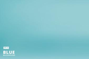 Studio room blue background