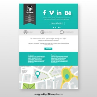Studio website template