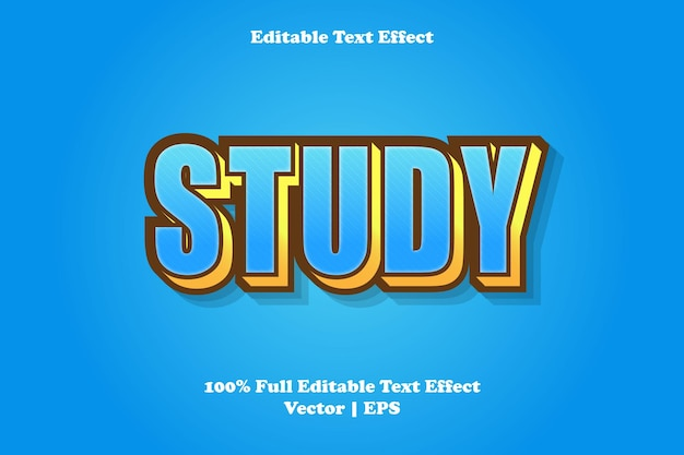 Изучите редактируемый текстовый эффект