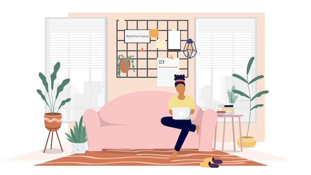 最小限のオンラインコンピュータで自宅から勉強