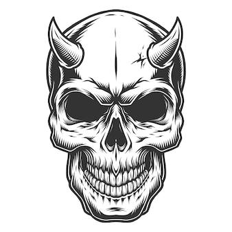 ビンテージstuleの頭蓋骨