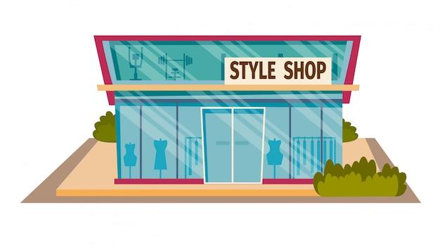 Концепт подруги шоппинг в магазине style