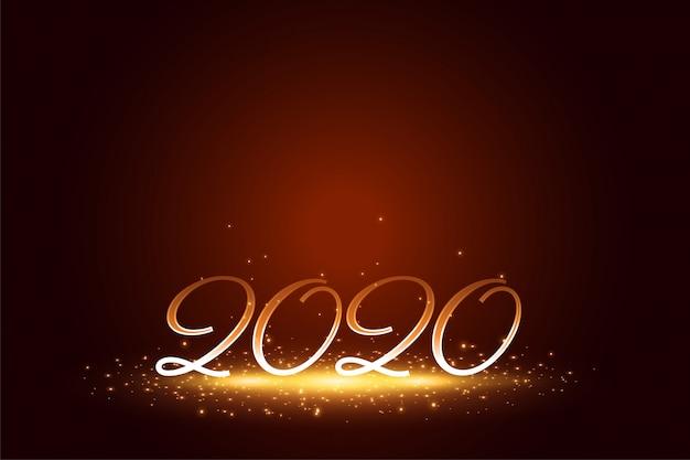 Стильные 2020 года с новым годом искрится