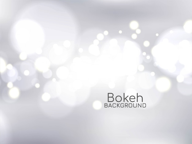 Stylish background with bokeh light effect