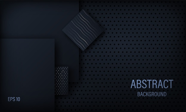 Stylish black abstract background.