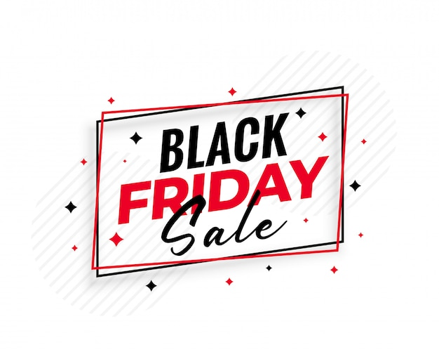 Stylish black friday sale background