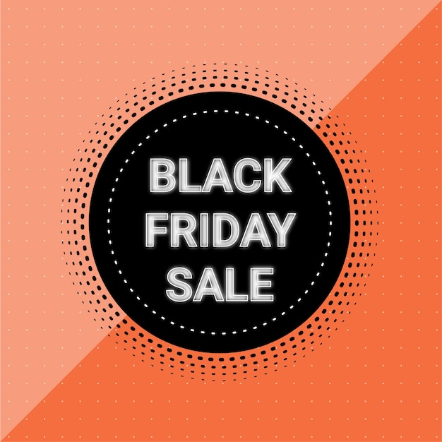 Stylish black friday sale banner or flyer