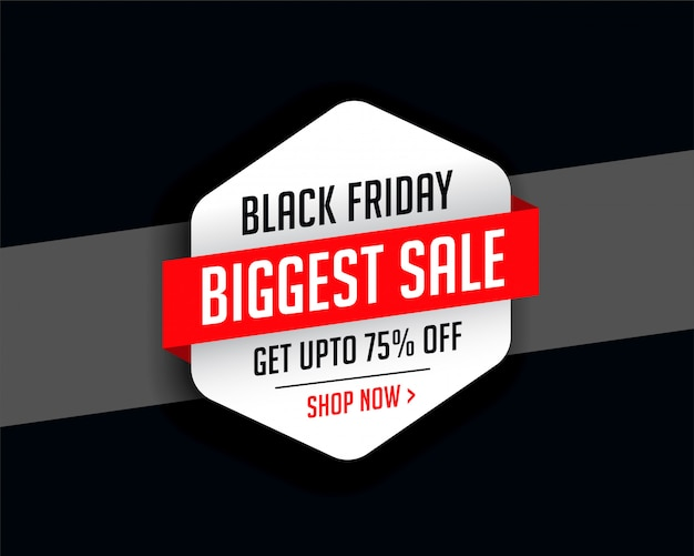 Stylish black friday season sale background